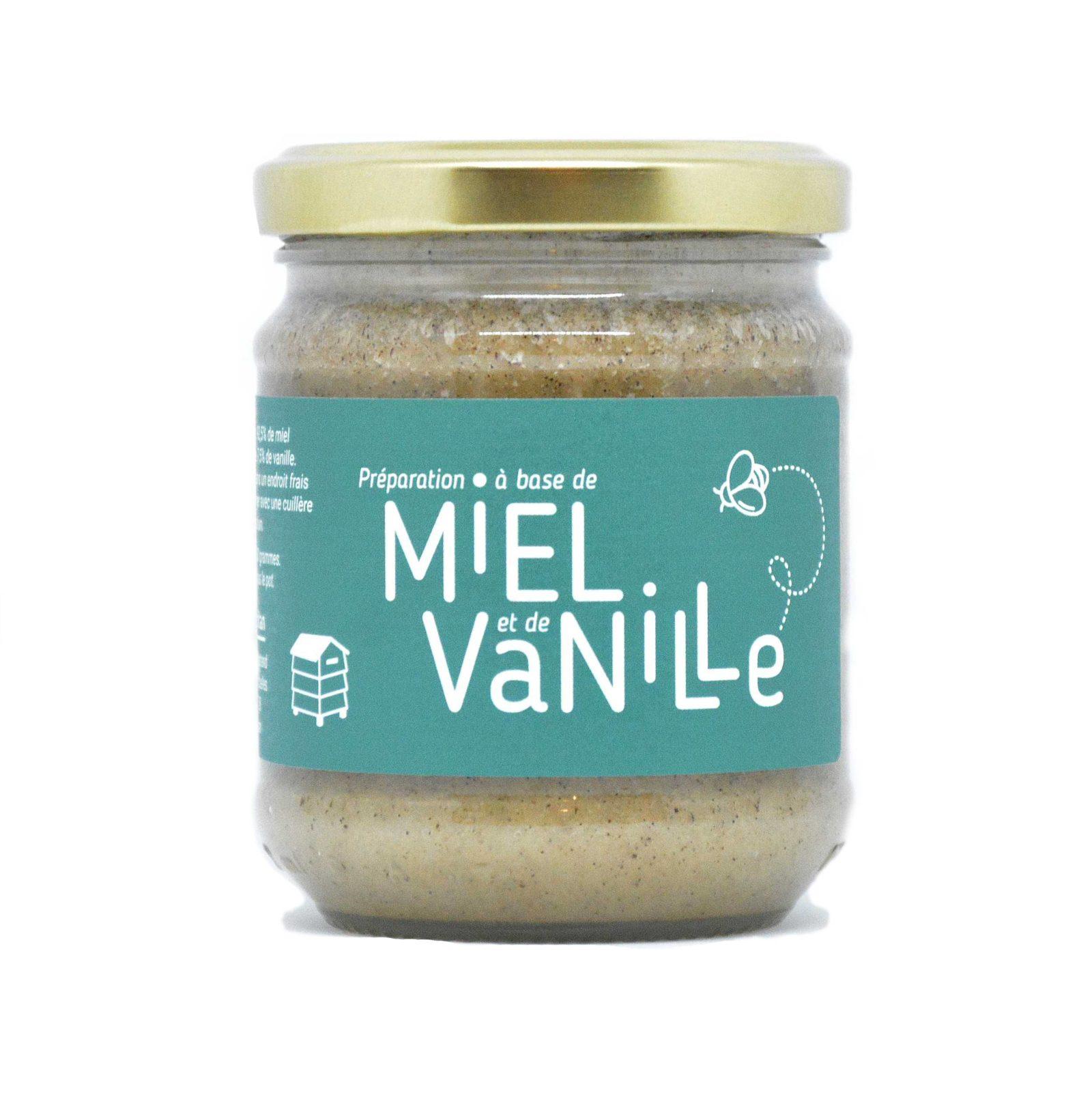 Miel à la vanille uibie apiculteur calvados caen Normandie