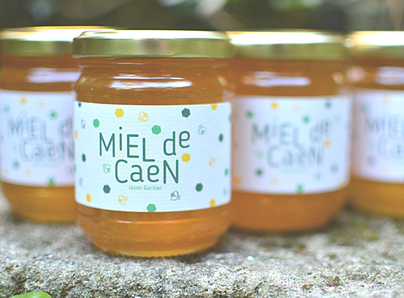 Miel de caen apiculteur Jason Garitan
